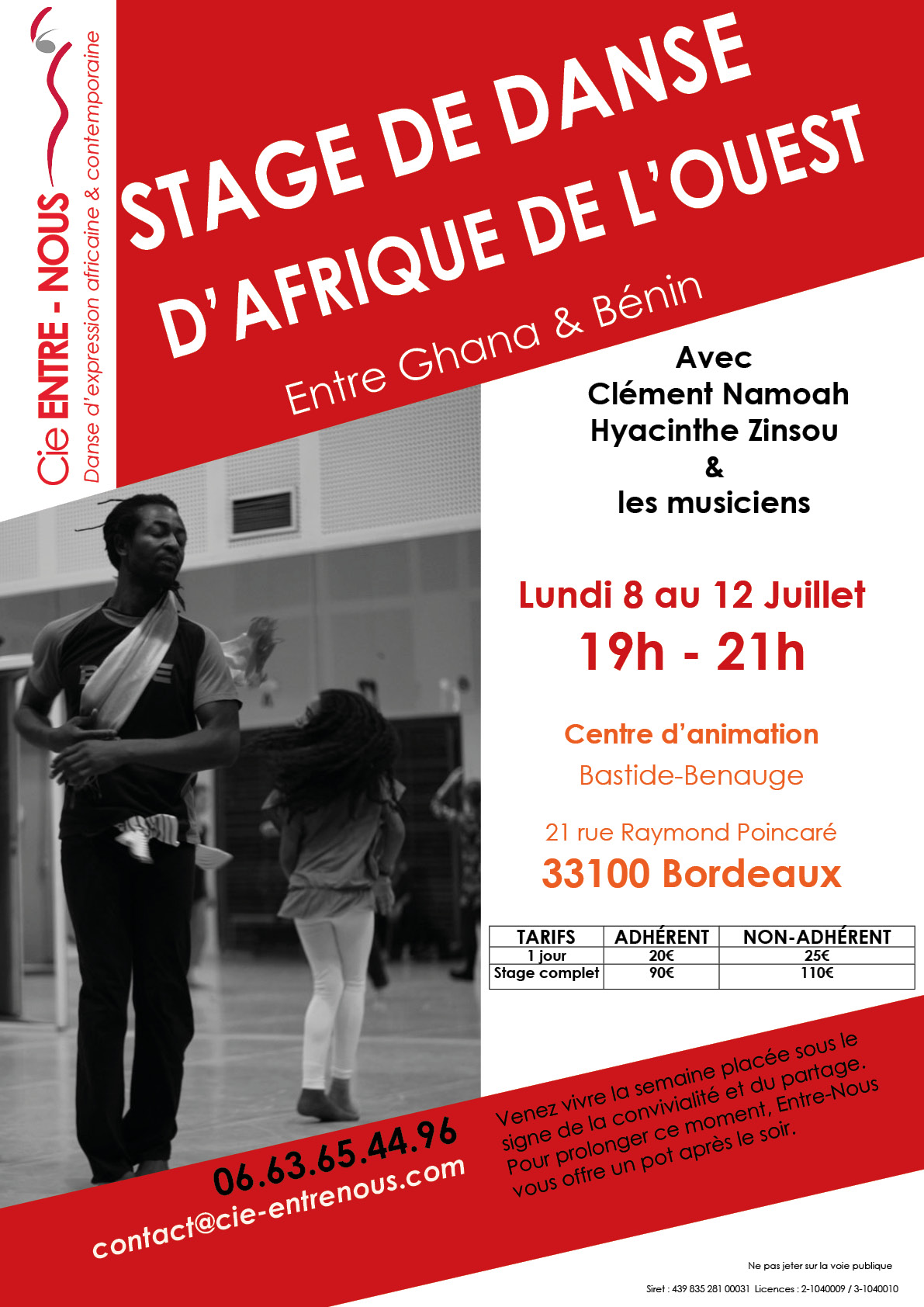 Stage bordeaux benauge 2019